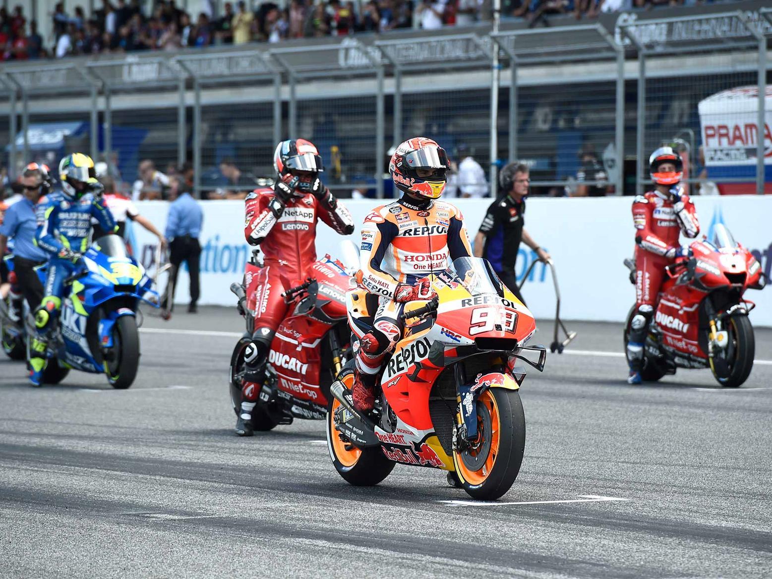 Qatar MotoGP race canceled because of virus outbreak