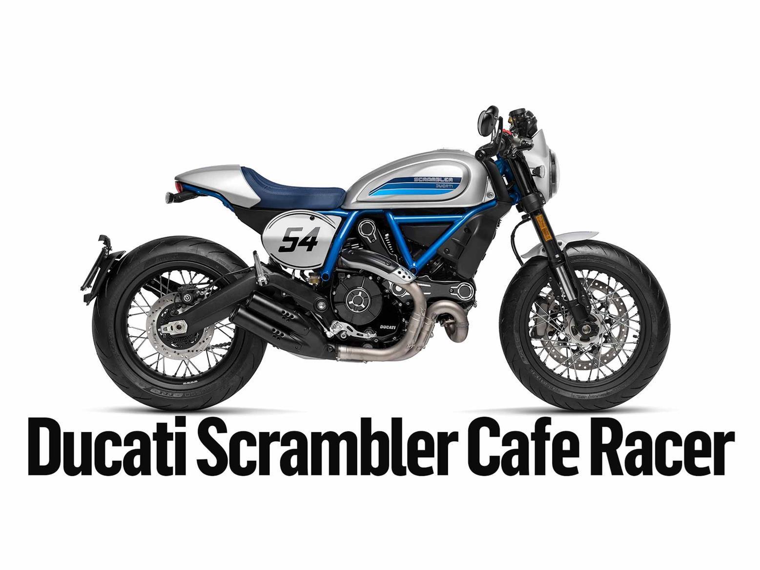 Read MCN's detailed Ducati Scrambler Café Racer long-term test here