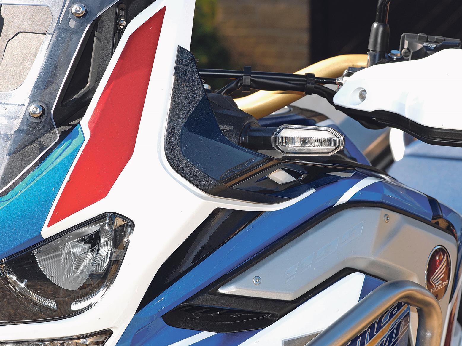 Honda Africa Twin AS ES Plus upper wind deflectors