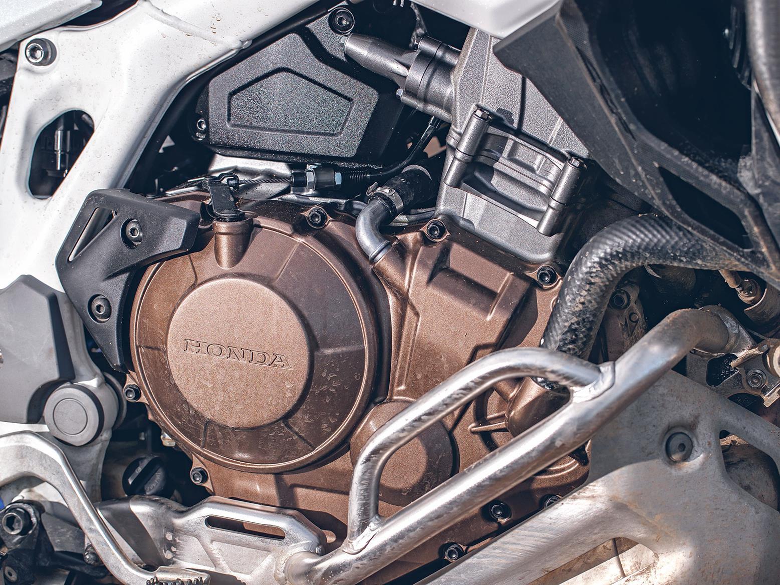 Honda Africa Twin AS ES Plus engine