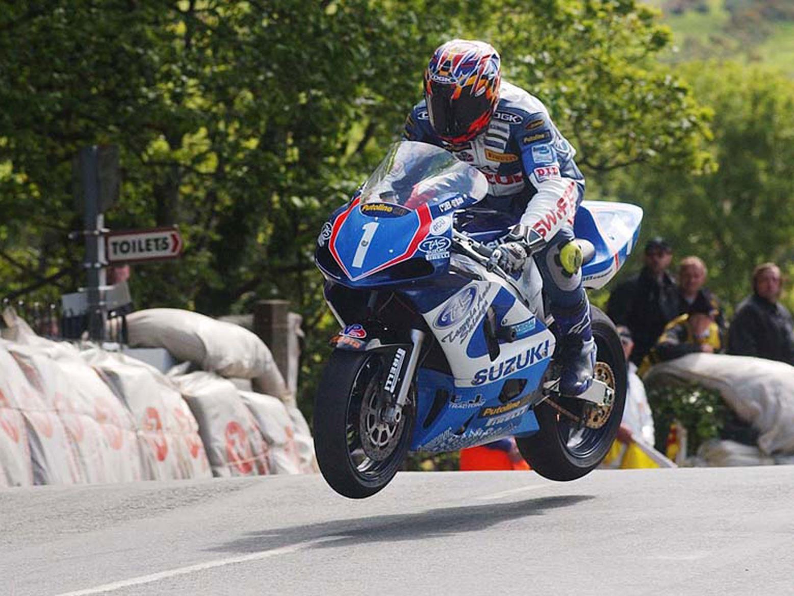 Jefferies 2002 Production Class TT win