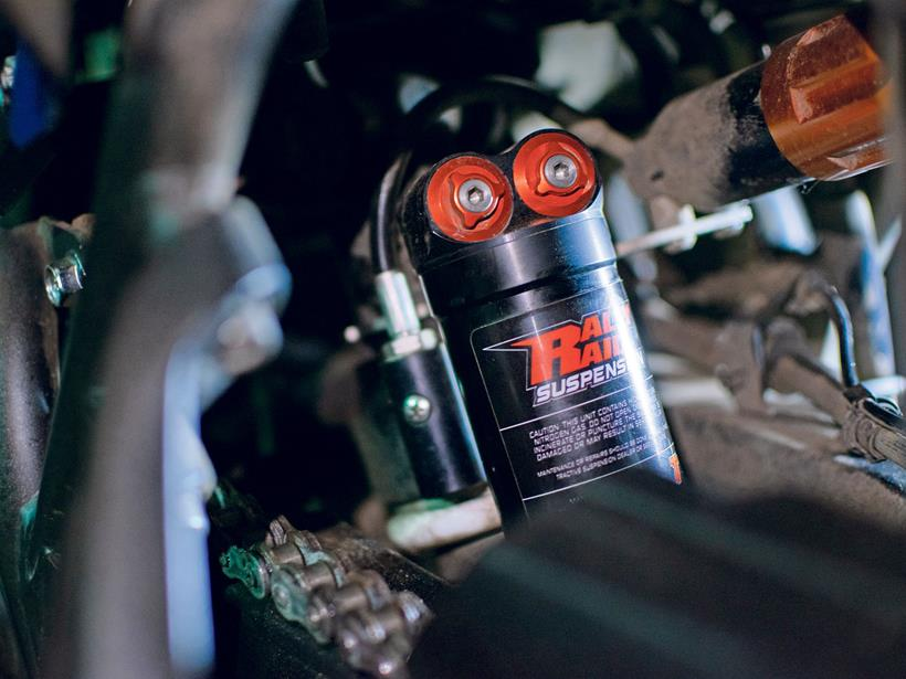 Rally Raid rear shock for Yamaha T7
