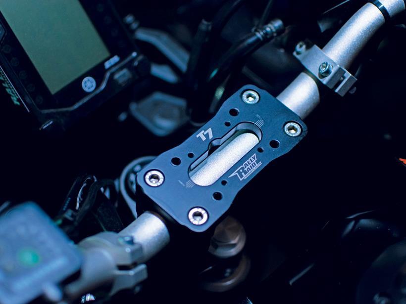 Yamaha T7 Rally Raid billet alloy multimount