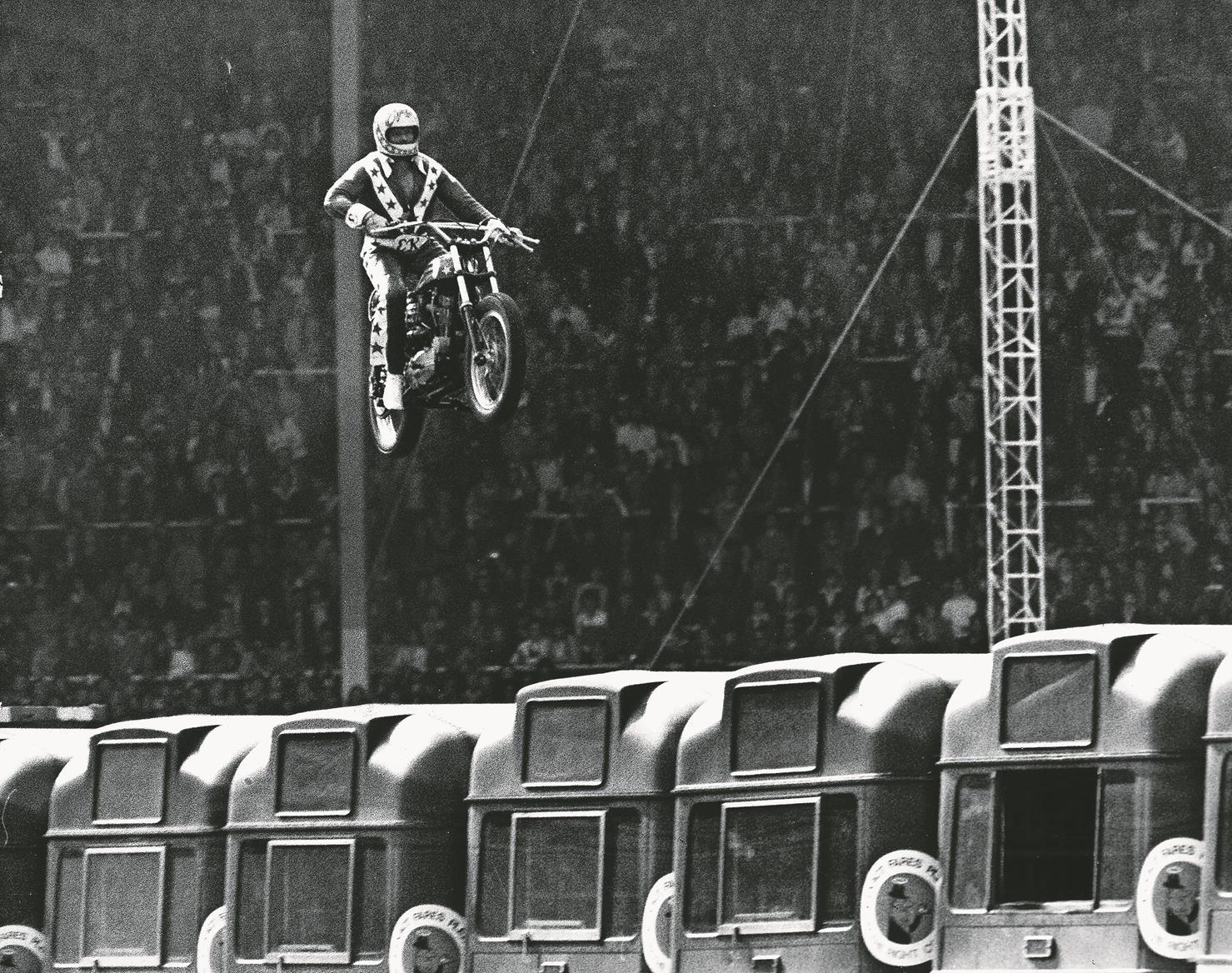Evel Knievel at Wembley