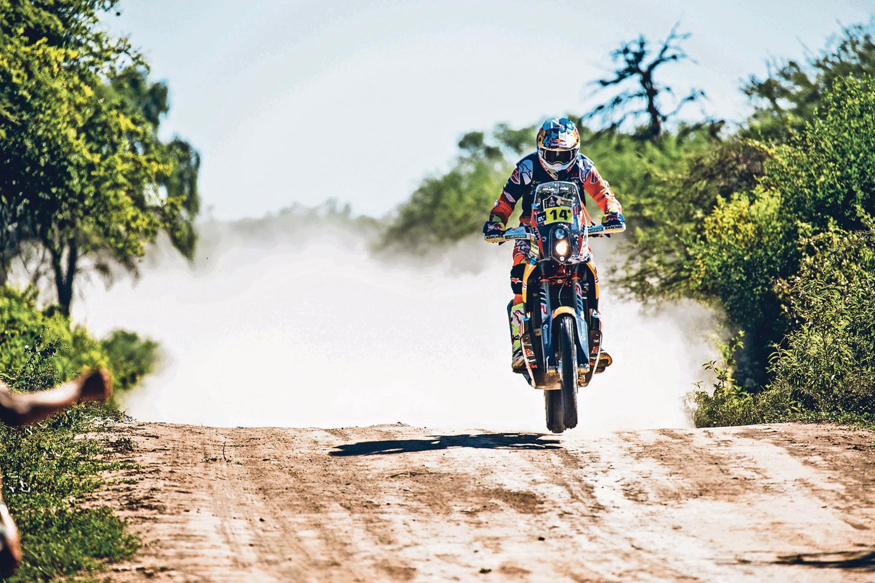 Sam Sunderland takes Paris Dakar win