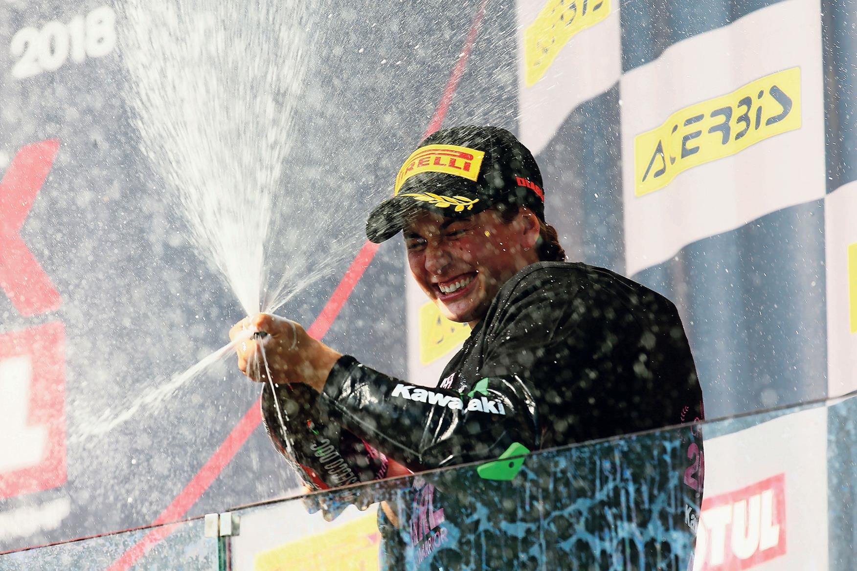 Ana Carrasco becomes first female world champion