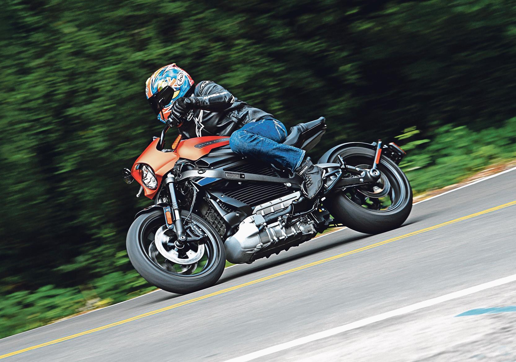 Harley-Davidson release the LiveWire