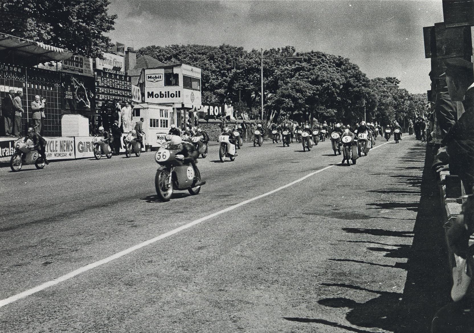 Honda's first IOM TT, 1959