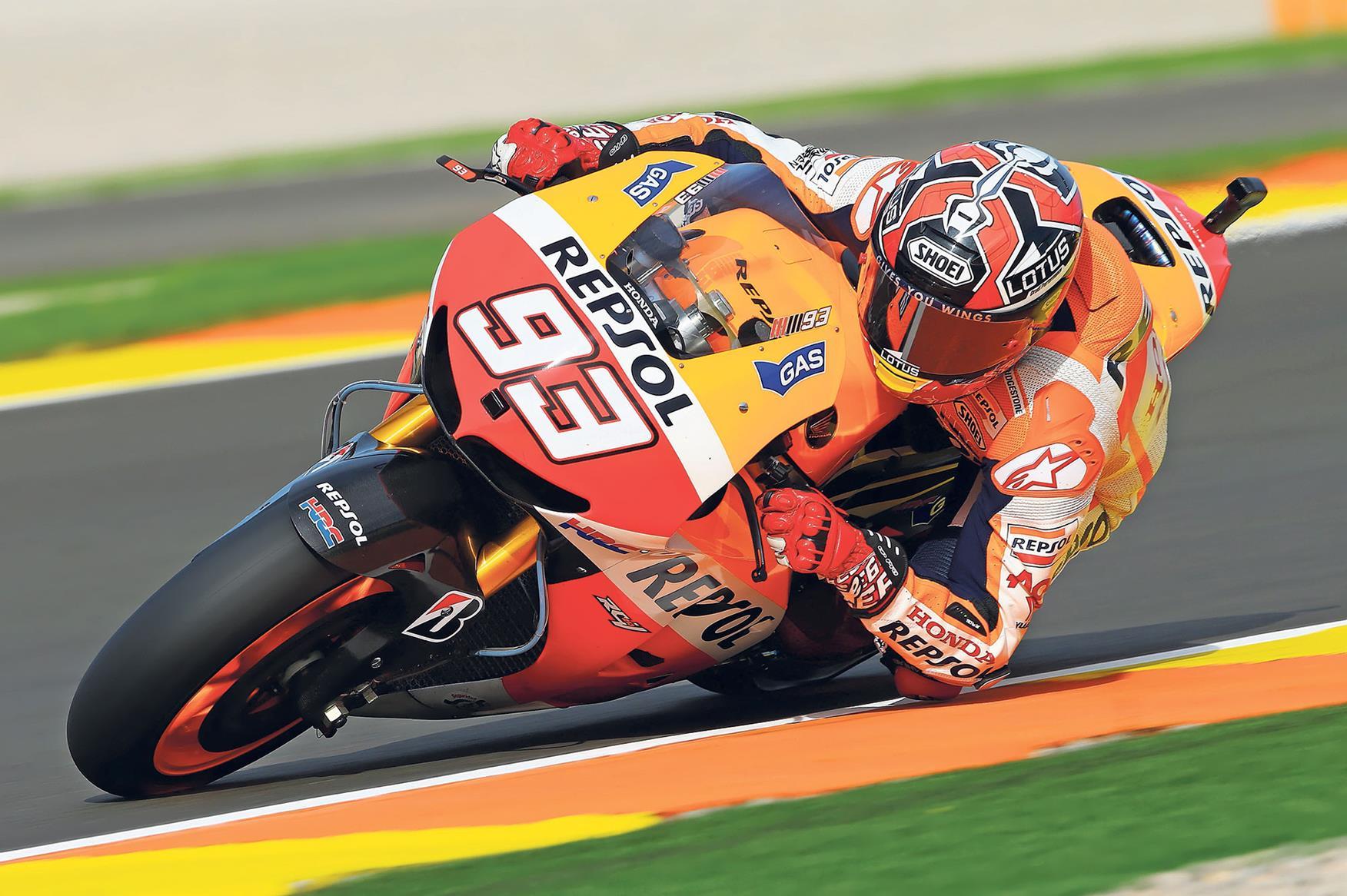 Marc Marquez wins MotoGP title at his first attempt