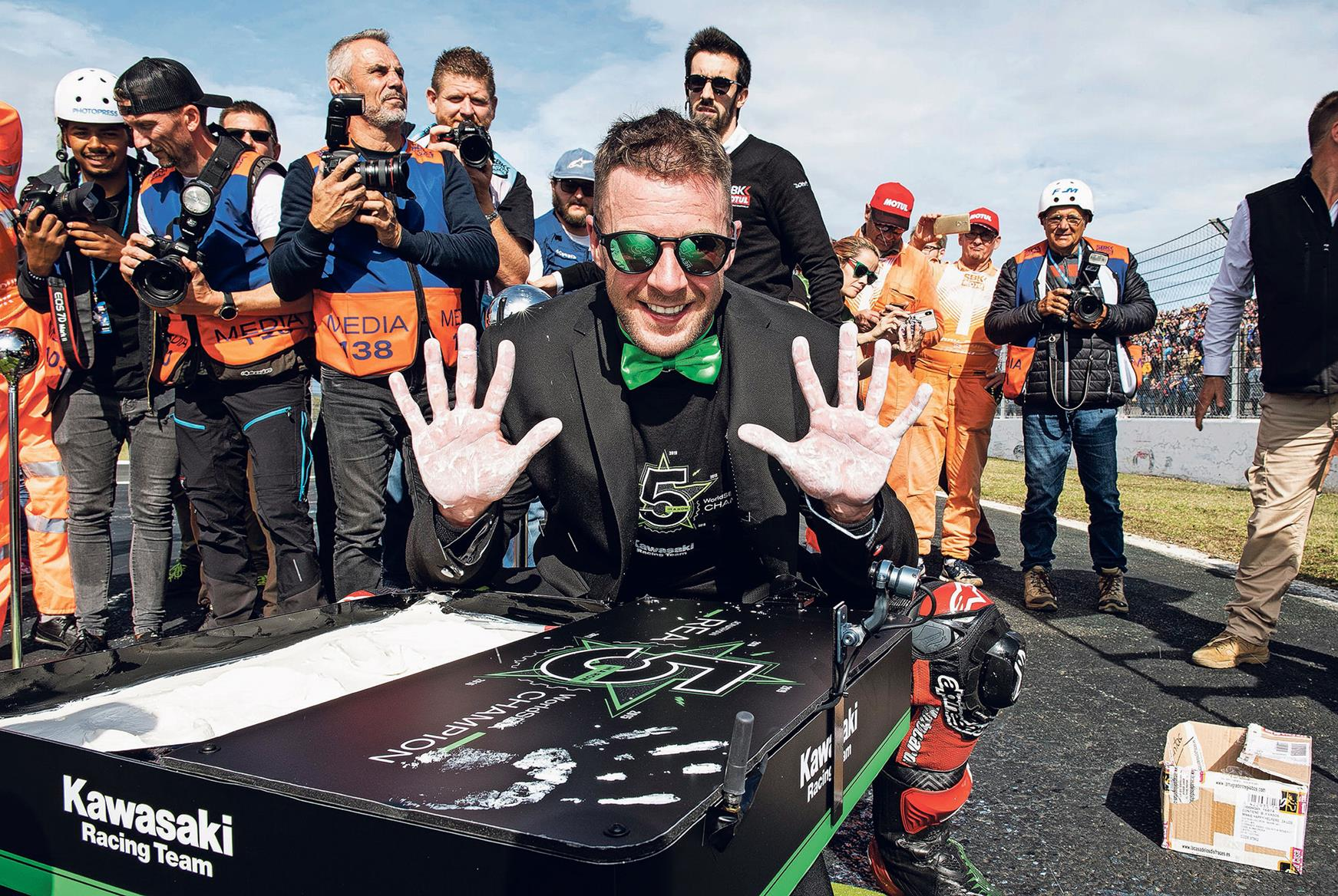 Rea takes title number five