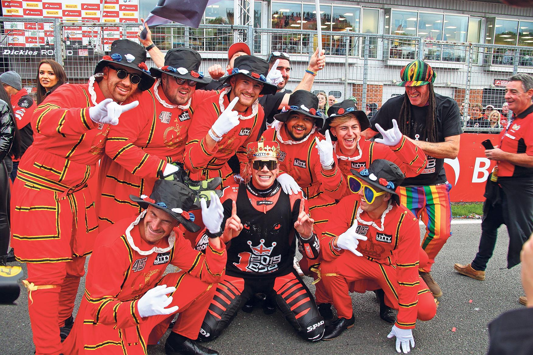 Redding takes the BSB title