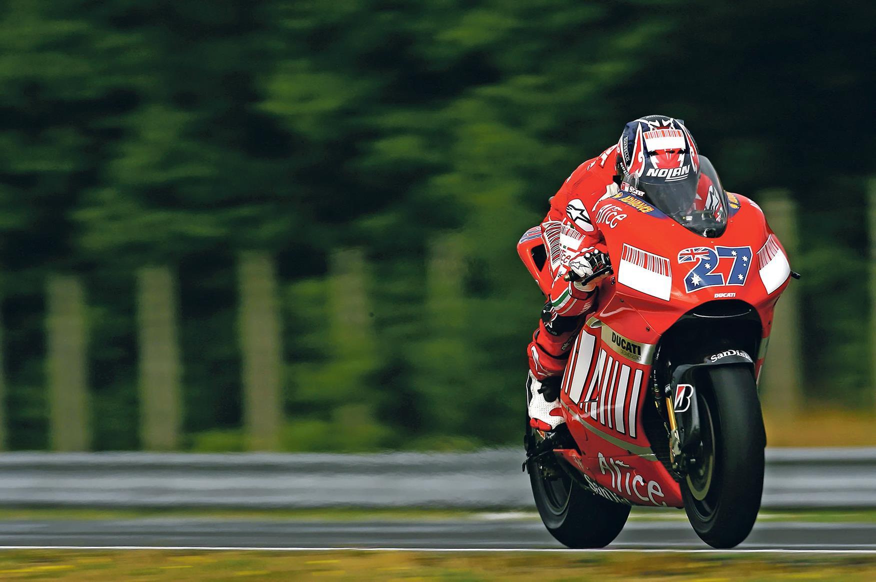 Casey Stoner 2007 MotoGP champion