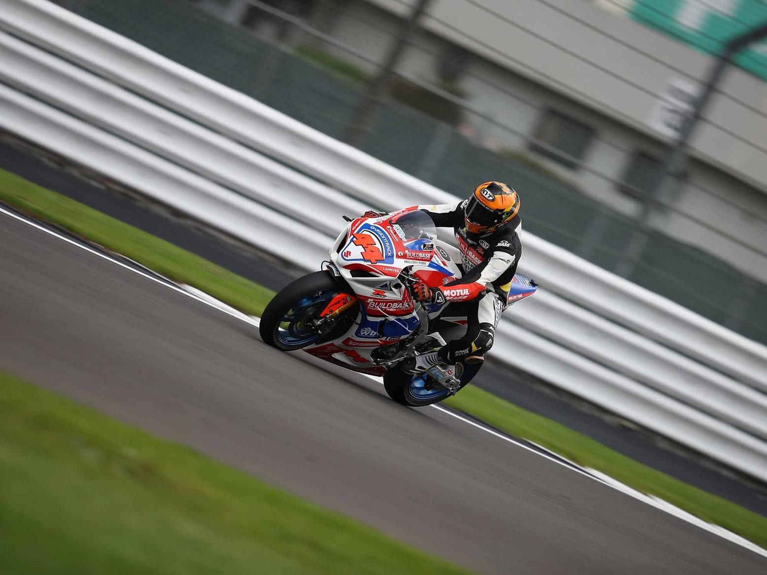 Gino Rea FP1 Silverstone