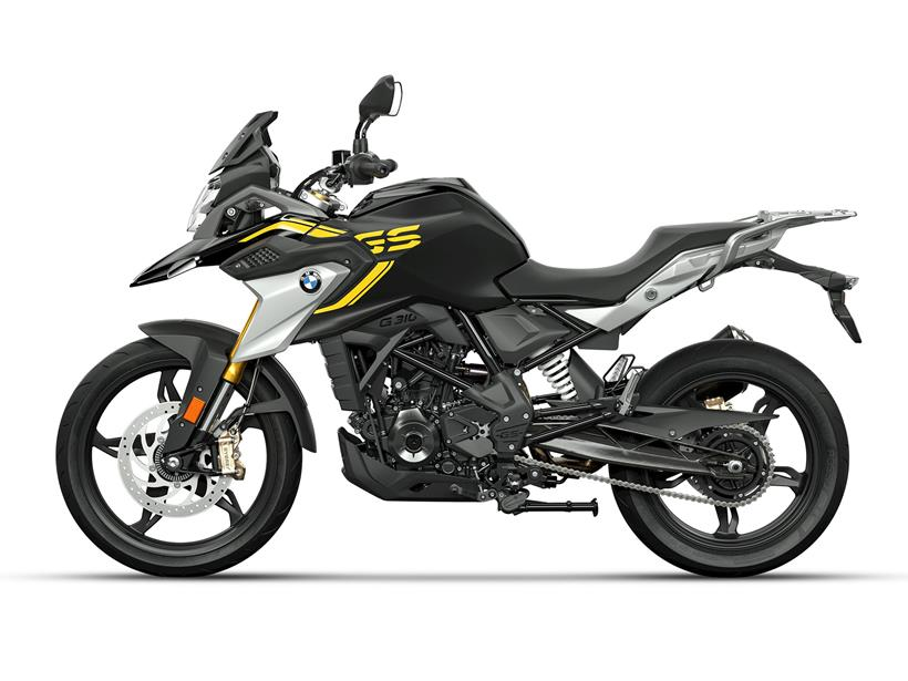BMW G310GS updated for 2021
