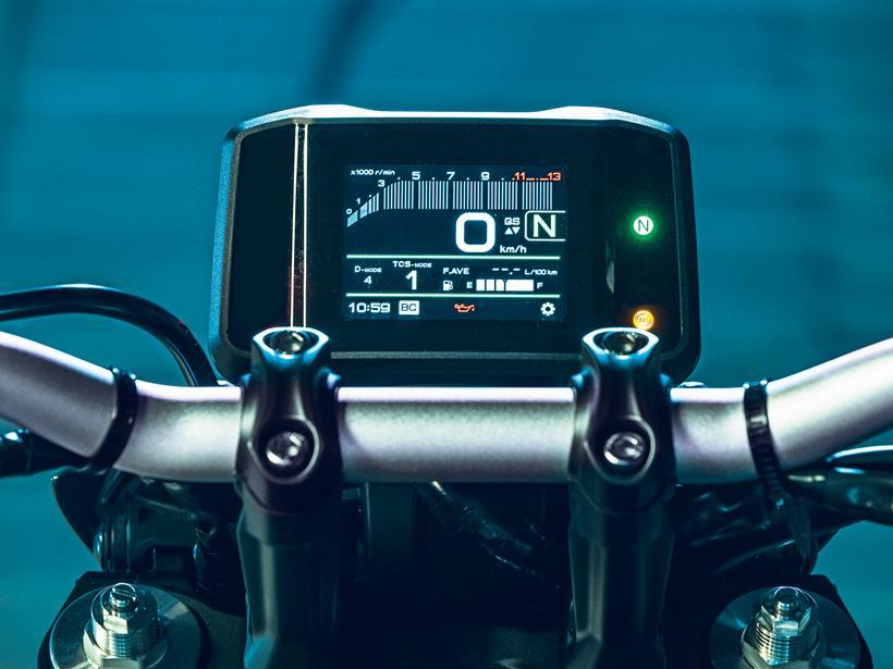 2021 Yamaha MT-09 dash