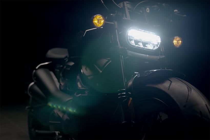 Harley-Davidson 1250 Custom front