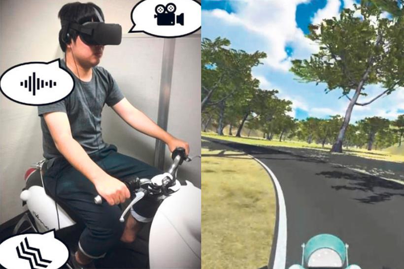 Yamaha using VR tech to develop motorbikes