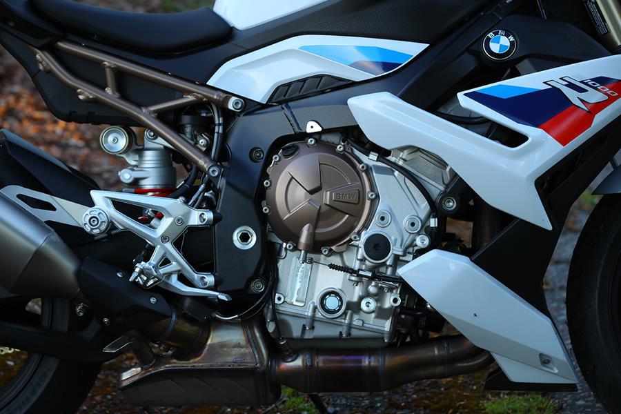 BMW S1000R four-cylinder engine