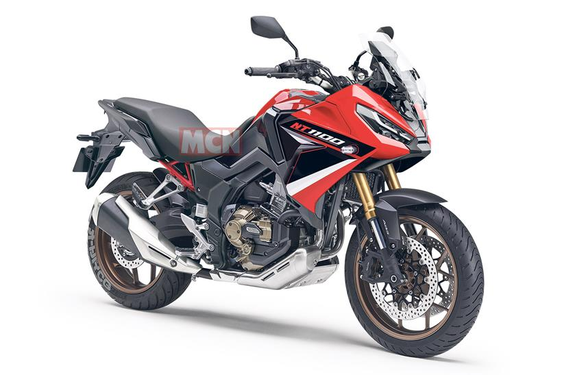 Honda NT1100 front CG render by Auto-By