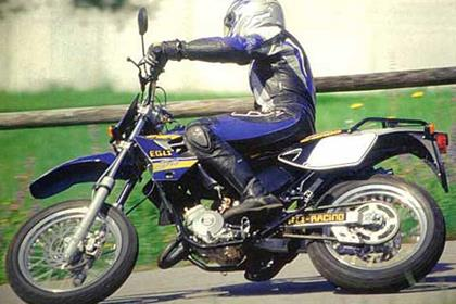 Sherco 50 motorcycle review - Riding