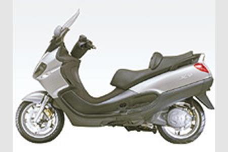 Piaggio Tests 850cc Twist And Go Bike