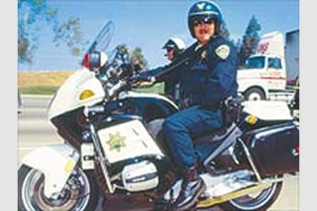 Riding with the California Highway Patrol