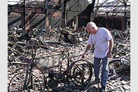 National Motorcycle Museum >> Fire Destroys National Motorcycle Museum