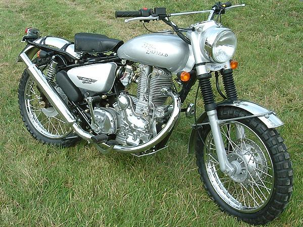 Trials Style Enfield Bullet