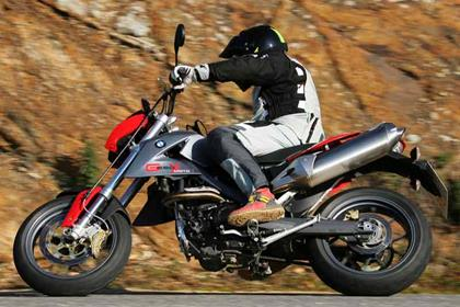 BMW G-series motorcycle review - Riding