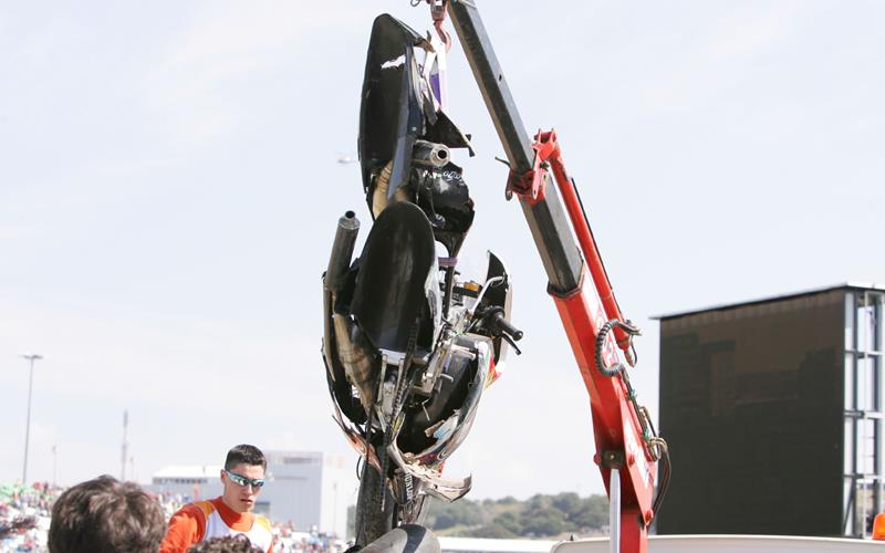 Bird strike unlikely cause of Locatelli crash | MCN