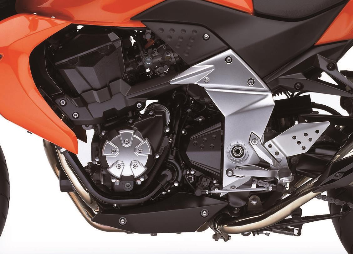 Kawasaki Z1000 2007 2009 Review Mcn 2006 Parts Diagram Wiring Schematic