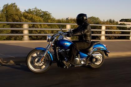 Kawasaki VN900 Custom motorcycle review - Riding
