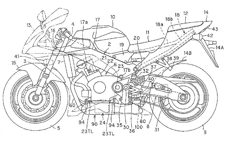 Exhaust patents reveal next generation Honda Fireblade | MCN