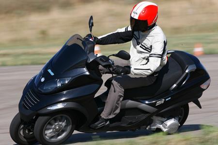 Piaggio Hybrid Scooter