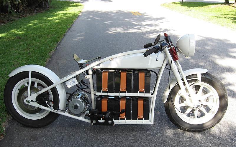 Гибридный мотоцикл своими руками 31