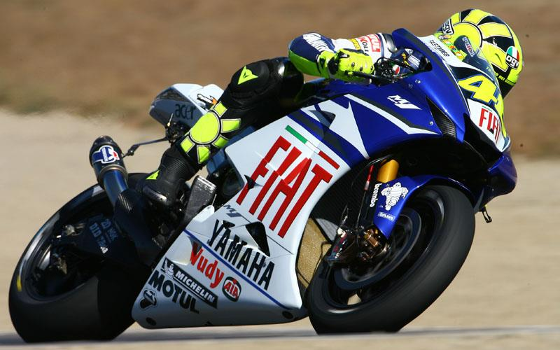Fiat Yamaha's Valentino Rossi believes it is a handicap that Michelin can not 'fly in' tyres any more