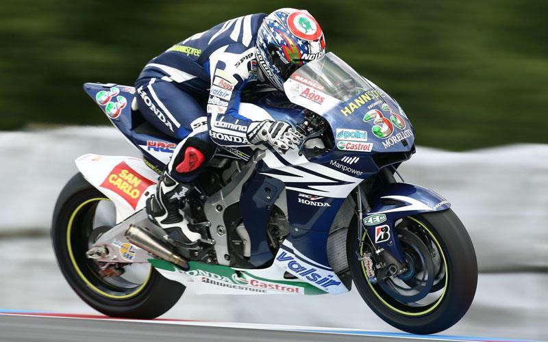 Misano MotoGP: Marco Melandri fastest, Aussie trio crash at rain-soaked Misano | MCN