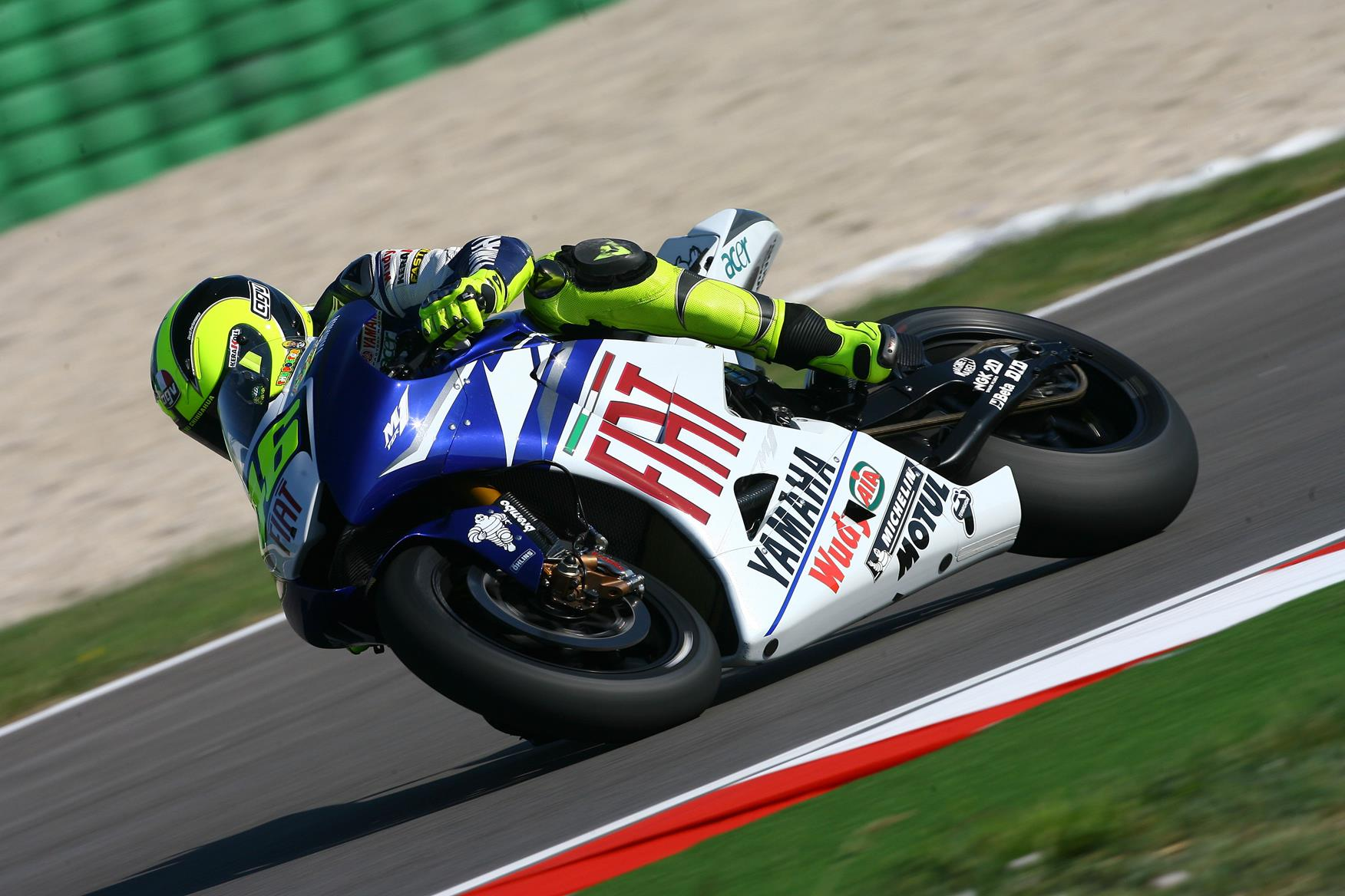 misano motogp valentino rossi to gamble with new yamaha engine mcn. Black Bedroom Furniture Sets. Home Design Ideas