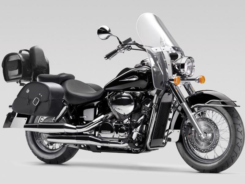 honda s 750 shadow makes a return for 2008. Black Bedroom Furniture Sets. Home Design Ideas