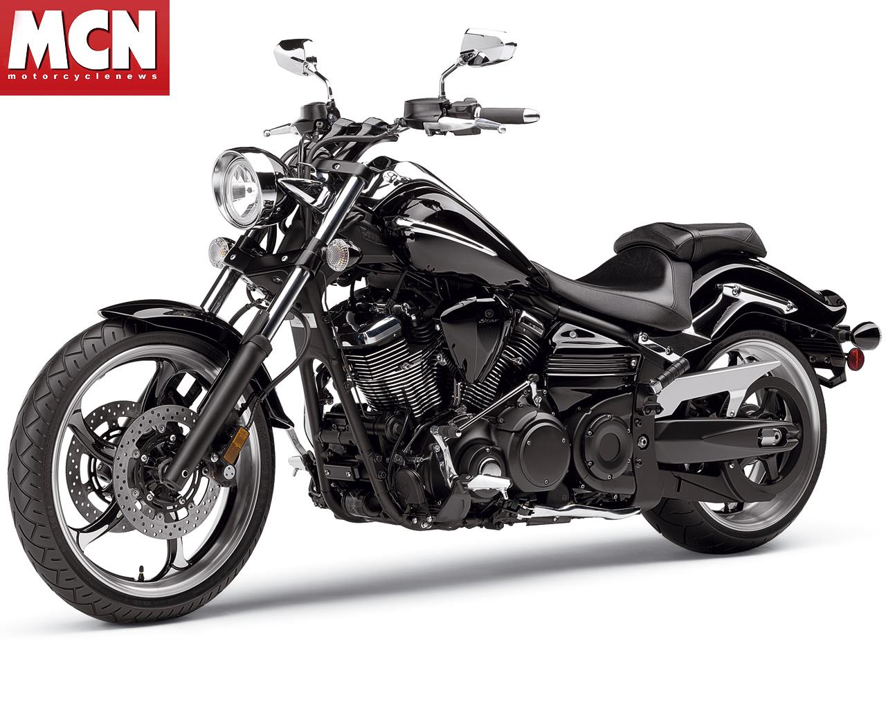 new 2008 yamaha xv1900 raider custom cruiser motorcycle mcn. Black Bedroom Furniture Sets. Home Design Ideas