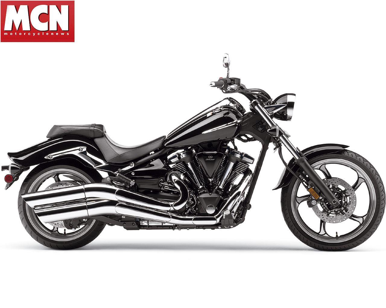 New 2008 Yamaha XV1900 Raider custom cruiser motorcycle