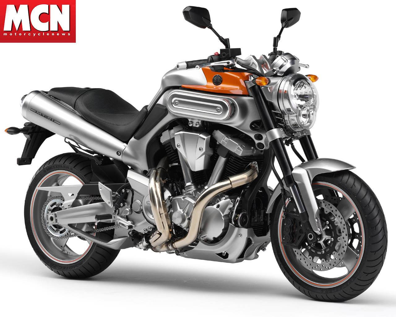 New colour for the 2008 yamaha mt 01 motorcycle mcn for Mount holly powersports yamaha