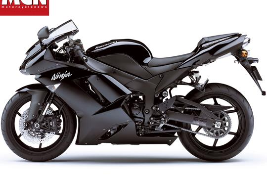 The 2008 Kawasaki ZX 6R In Black