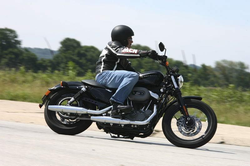 Harley Nightster Review Action