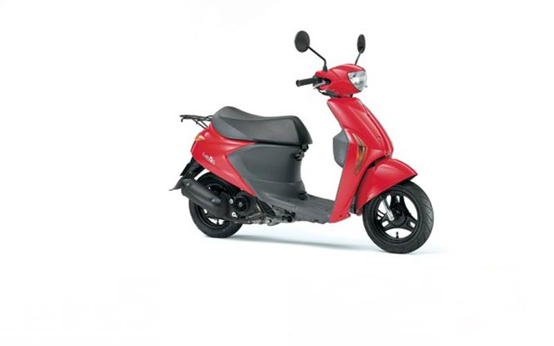 Suzuki Lets Scooter Images