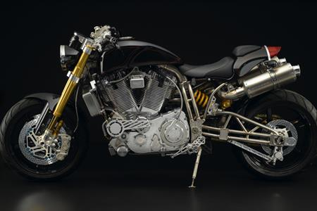 The world's most expensive motorcycle - Ecosse Heretic Titanium