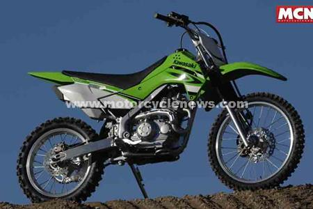 Picture special: Kawasaki's KLX140 off road motorcycle invites you ...