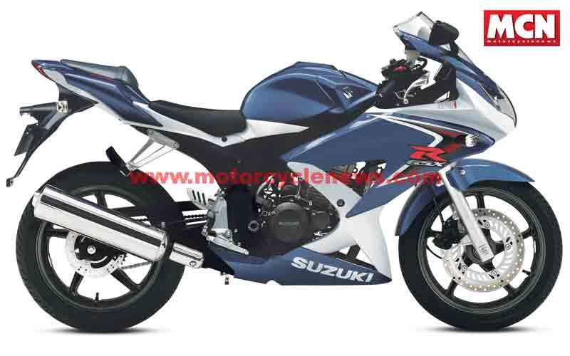 new suzuki gsx r125 ready for 2008 check out its rivals mcn. Black Bedroom Furniture Sets. Home Design Ideas