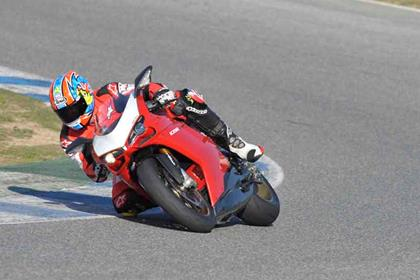 Ducati 1098R review action