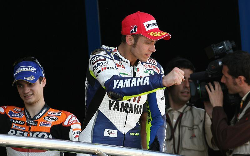 Jerez MotoGP Reaction  Valentino Rossi scores 100th podium 9d1f23f21286